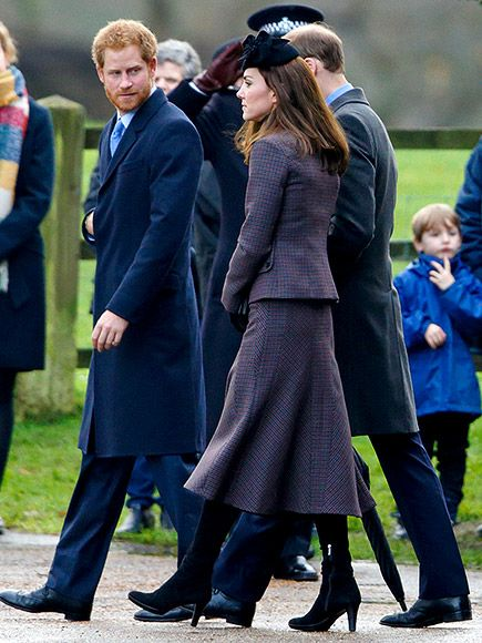 Sunday Stroll With the Royals! Princess Kate, Prince William and Prince Harry Step Out for Church| The British Royals, The Royals, Kate Middleton, Prince Harry, Prince William: