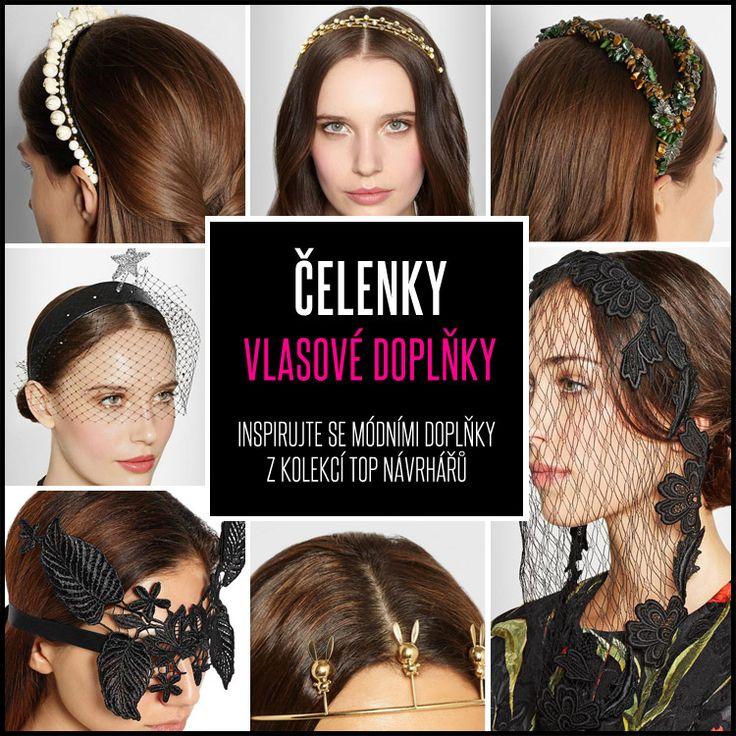 Víte jaké čelenky do vlasů se nosí, které se hodí do práce či do školy, jaké zas třeba pro účesy na ples? Podívejte se na nové čelenkové trendy!