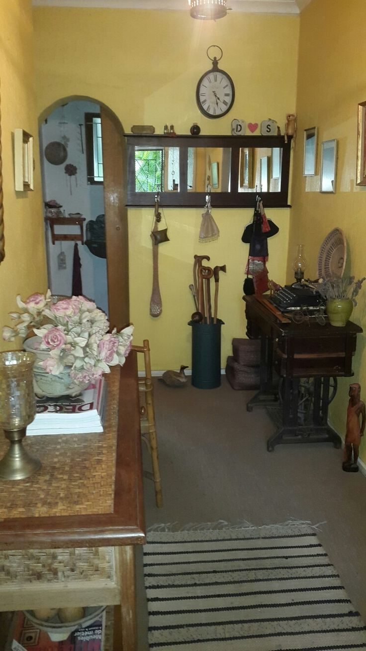 Home is my happy place. My entrance hall.