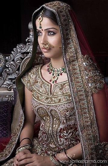 Gorgeous Indian Bridal fashion!