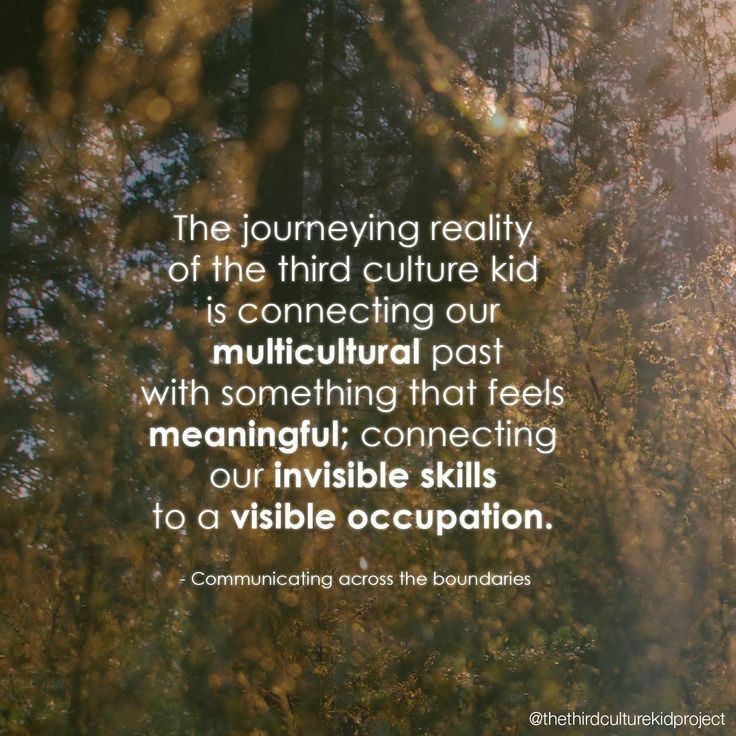 the third culture kid project                                                                                                                                                     More