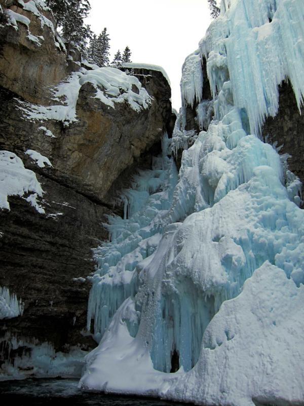 Johnston Canyon, Alberta.