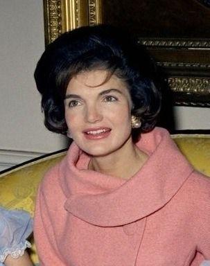 The ever stylish Jacqueline Kennedy