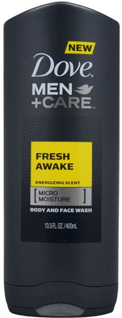 Men Dove Men + Care Fresh Awake Body And Face Wash