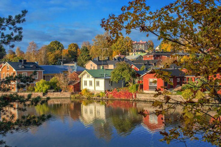 Life in Finland: AMAZING AUTUMN IN PORVOO