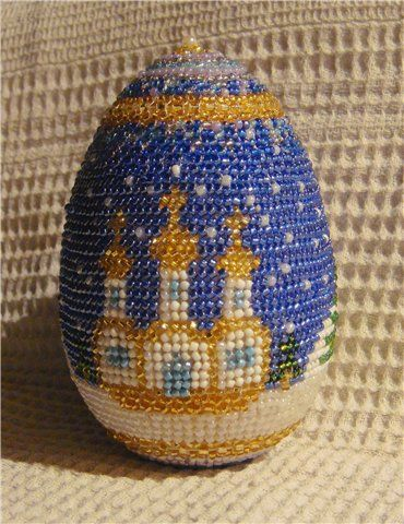 Schemes | biser.info - all about beads and bead work. Beaded egg