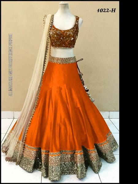 SS 1022 colours Bridal lehengas Price is INR 2775.00 each for singles and multiples Start booking your order now. Banglori silk fabric with embroiderd blouse and net dupatta with embroiderd lace border. Ready to ship all  For more details and order ping us on sbtrendz@gmail.com or Whatsapp 91 9495188412; Visit us on http://ift.tt/1pWe0HD or http://ift.tt/1NbeyrT to see more ethnic collections. #Lehenga #Gown #Kurti #SalwarSuit #Saree #ChiffonSaree #salwarkameez #GeorgetteSuit #designergown…