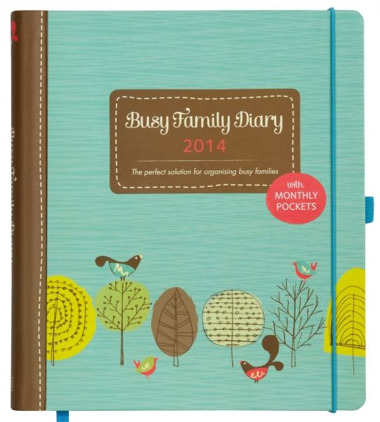 Ktwo Busy Family Diary 2014