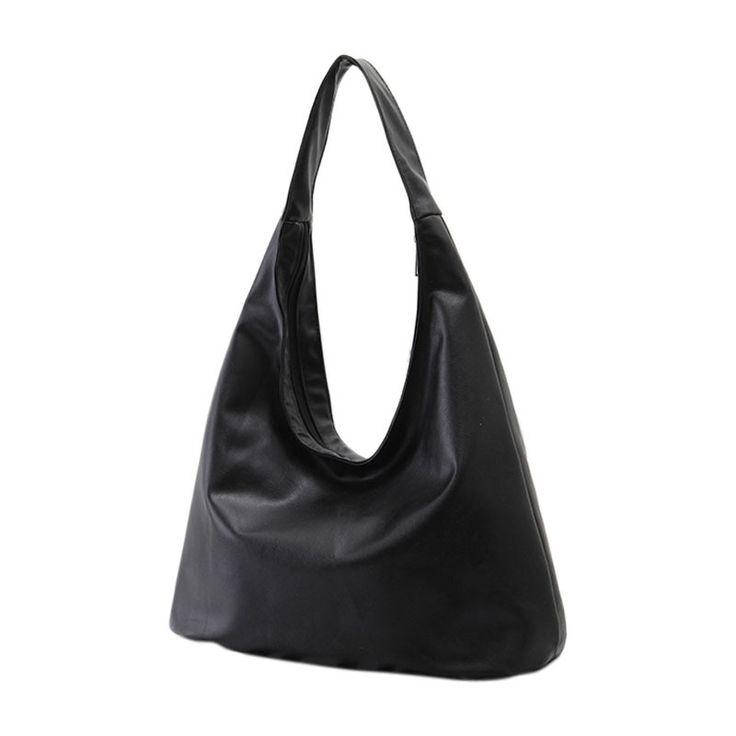Royadong марка 2016 новый женский сумки на ремне Hobos дизайнерские сумки для женщин черный нью пу кожаные сумки сумки посыльного сумка женская клатч женские сумки сумка женская натуральная кожа сумка через купить на AliExpress