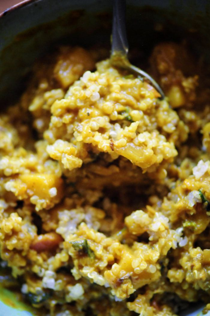 Sweet Potato And Cauliflower Rice Coconut Curry Gluten Free Vegan