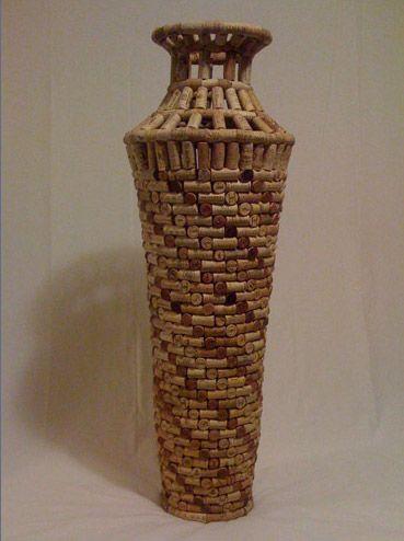 Cork vase 3