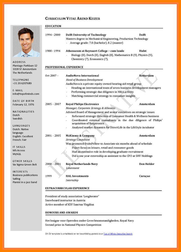 7 Curriculum Vitae Format 2017 Teller Resume Latest Cv Format 2017