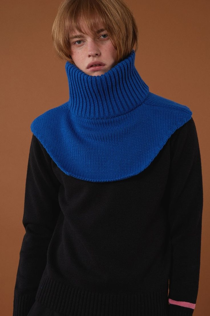 [BLUE] FW15 collection Neck warmer