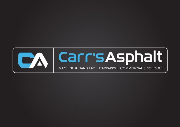 Carr's Asphalt Logo Design & Brand Development | Graphic Design | Oraco Marketing