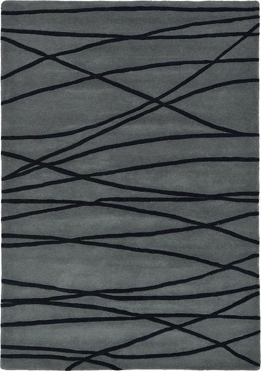 Gray 163cm x 231cm Reproduction Gabbeh Rug | Area Rugs | AU Rugs