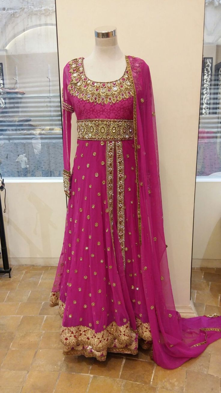 Trendy Designer Anarkali suit - Bollywood