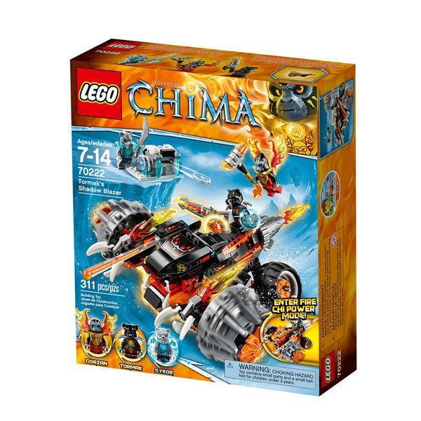 Tormaks skyggemaskine fra Lego Chima. Lego Chima er en spændende action- og kampserie fra Legotil drenge i alderen 7-14 år, som handler om et uberørt paradis,