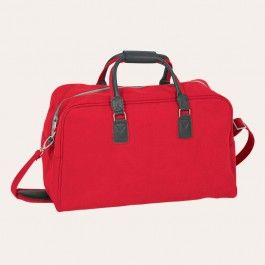 Off on a weekend break? Then the faux suede Angola bag will have you travelling in style - particularly this striking red version! The bag features a roomy zipped main compartment for easy packing, double handles for comfortable lifting and an adjustable, detachable shoulder strap. It fits perfectly into an aeroplane overhead locker, so is very practical and makes a great gift. #travelbeautifully  #redgiveaway @redcurrent