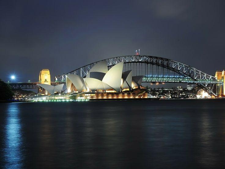 Il teatro dell'opera di Sydney (la Sydney Opera House) costituisce una delle più significative