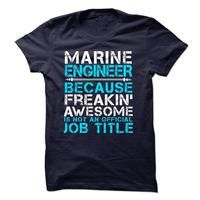 MARINE ENGINEER SHIRT