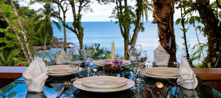 Copa de Arbol restaurant view