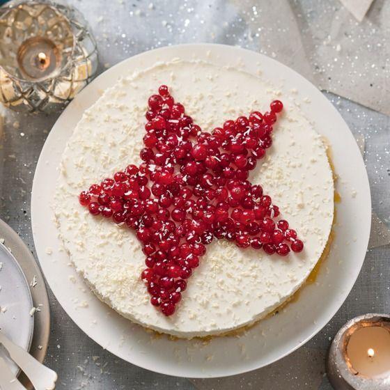 Voor een punt van deze heerlijke mascarponetaart heb je altijd nog ruimte over! #kerst #taart #JumboSupermarkten