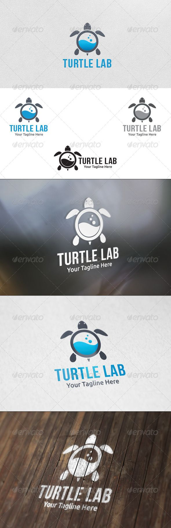Turtle Lab - Logo Template
