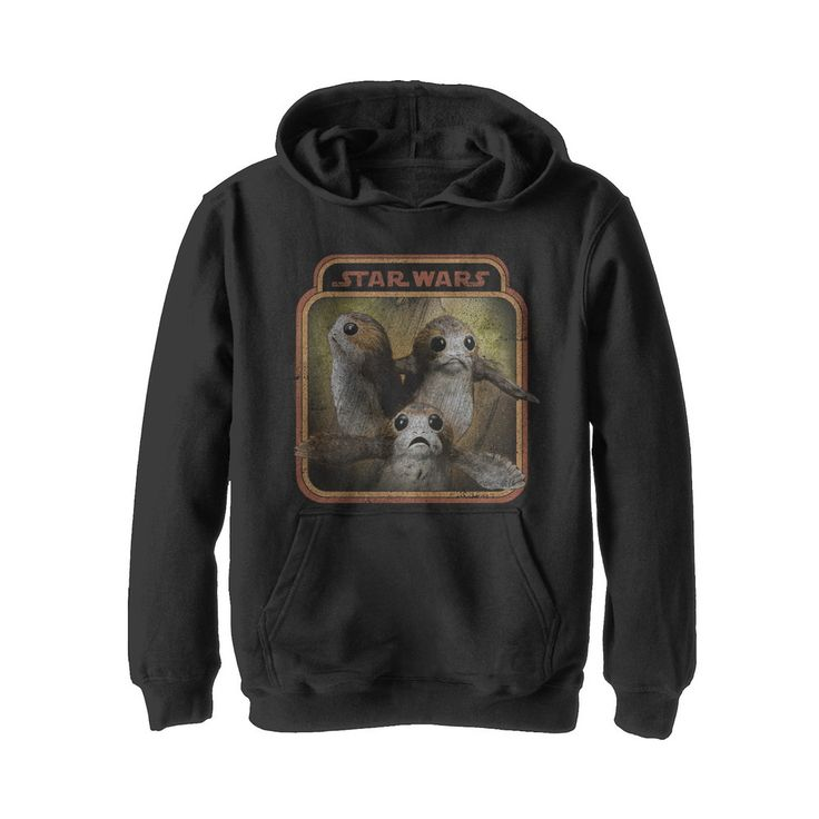 #Christmas For sale Star Wars The Last Jedi Boys' Porgs Frame Black Hoodie for Christmas Gifts Idea Online . Certainly one of the profoundly beautiful fishing tackle could be the experience that since you stay generally there pleasantly within your chair, glass connected with green tea at hand, a person have...