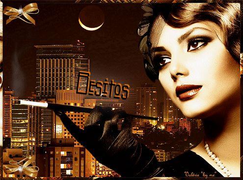 bonne nuit+femmes+papillions+gifs Centerblog.net  | Gif animé de femme !…