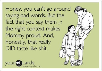 Hahaha!!! I totally laughed too loud