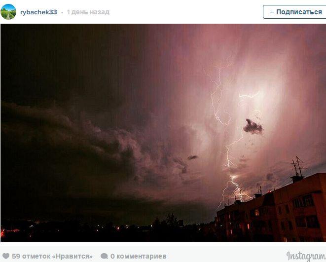 Небо во время грозы в Москве 13 июля: фото пользователей - Ярмарка Мастеров - ручная работа, handmade