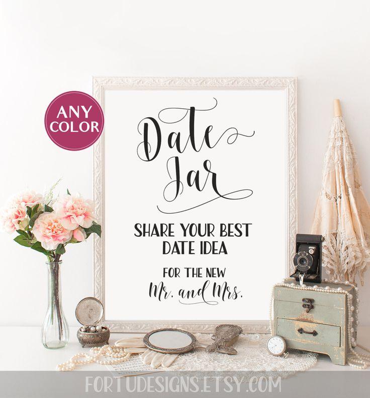 die besten 20 date night jar ideen auf pinterest date nights hochzeitsempfangstische und. Black Bedroom Furniture Sets. Home Design Ideas