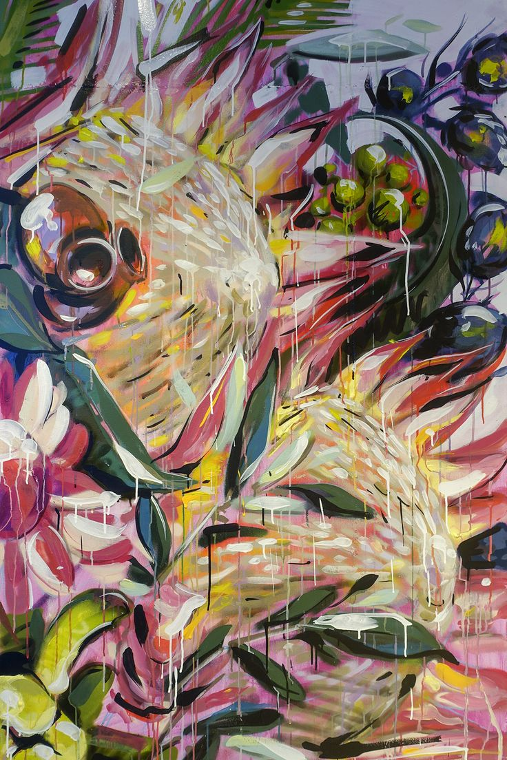 Scott Marsh painting Ironlak Art & Design Sydney