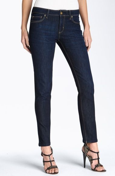 DL1961 'Angel' Ankle Cigarette Jeans (Mariner) available at #Nordstrom
