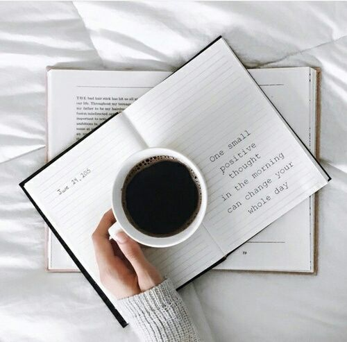 coffee, book, and quote image