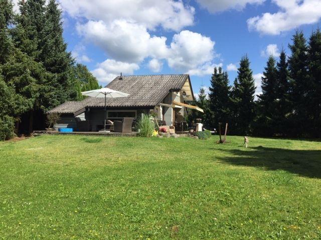 Bungalow In Waldrandlage Mit Separatem Seegrundstuck Ferienhaus Mieten Bungalow Urlaub