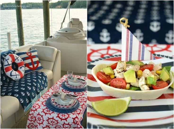 Sailing into Summer: Nautical Fun on the Pontoon