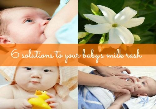 6 Solutions to Your Baby's Milk Rash