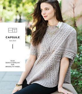 Ravelry: CAPSULE | Olga Buraya-Kefelian, published November 2015 by Brooklyn Tweed