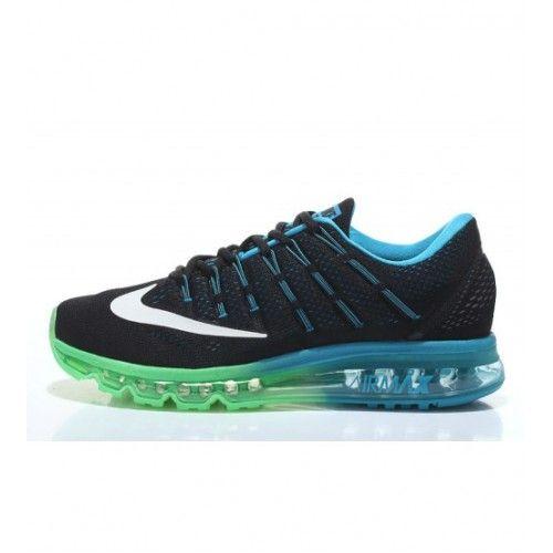 Nike Pánské - Koupit Air Max 2016 Černá Modrý Grass Zelená Pánské Běžecké Boty