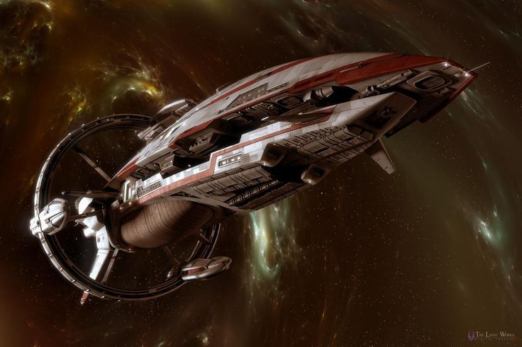 Your Spaceship of the Day - the CAS Nobility | The Sci Fi Show
