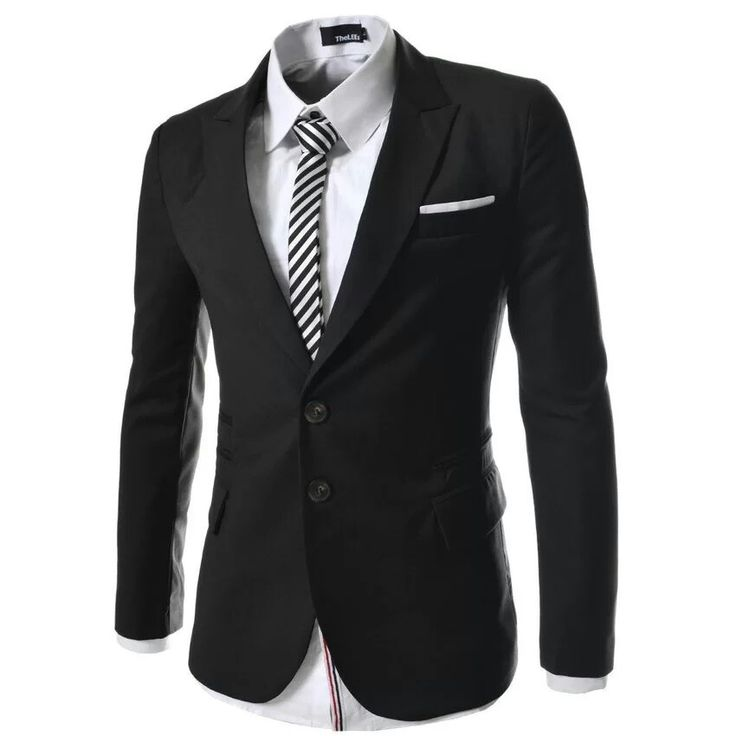Jas blazer pria pria formal Bahan : jet black  Bergaya formal atau bergaya casual, Blazer BK01 ini bisa banget bro! Lo bisa tampil lebih keren di setiap moment penting yang lo lewatin. So, tunggu apalagi? Order produk keren ini sekarang juga :)