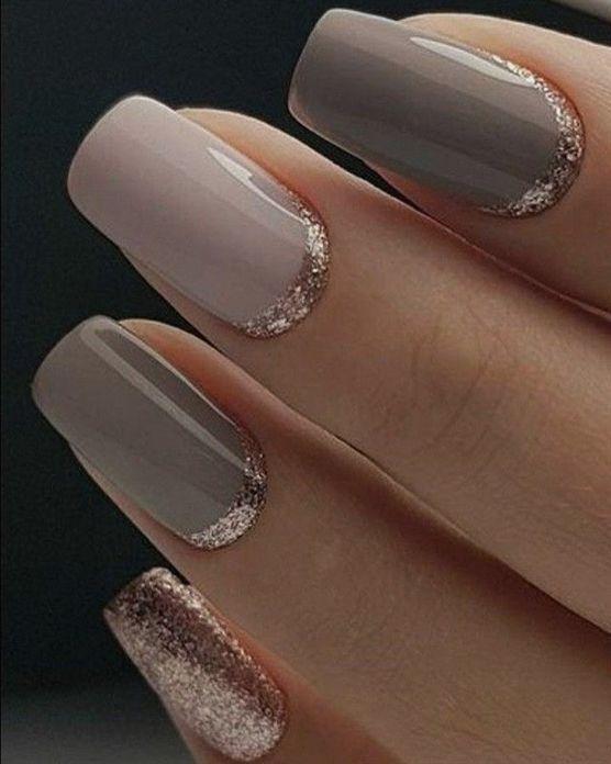 Simple but elegant mix and match nail polish ideas #nails #nailart #GelNailDesigns #NailPolish