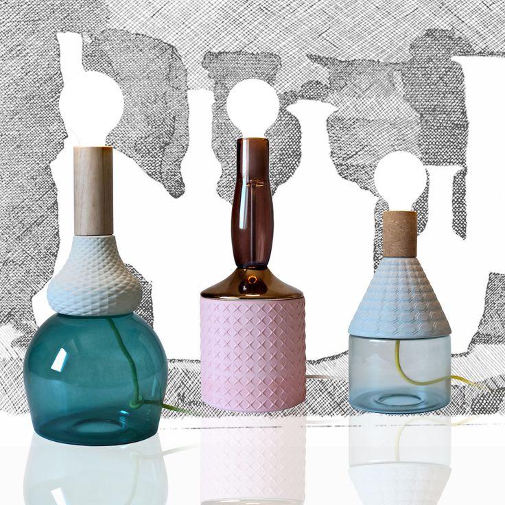 LE LAMPADE TOTEMICHE DI ELENA SALMISTRARO http://designstreet.it/le-misteriose-figure-totemiche-di-elena-salmistraro/ #designstreetblog