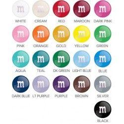 M&M's Color guide
