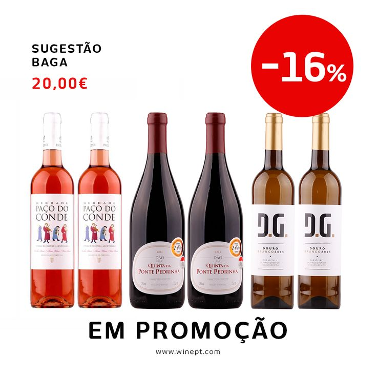 Já conhece as nossas sugestões? Para além de mais económicas, dá-lhe a oportunidade de provar vinhos que ainda não conhece. Prove aqui