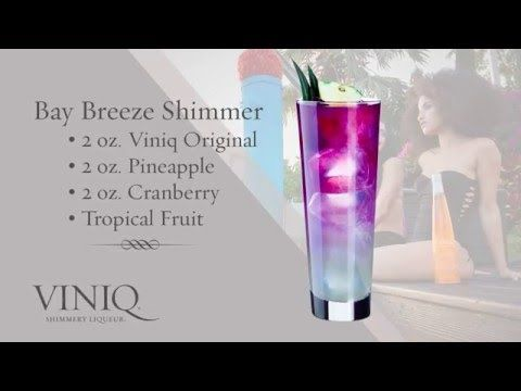 Learn how to make shimmery Liqueur & Moscato Cocktails with Viniq. View professional how-to videos to craft Purple, Red & Orange cocktails!