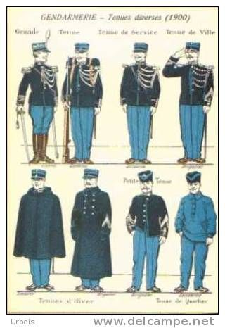 The French Gendarme ca. 1900