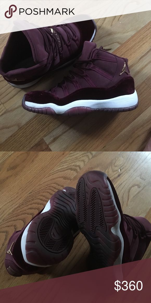 Jordan 11s Rare jordans to small for me no insoles but condition is 9/10 honestly they didn't get much wear cause they didn't fit me size 7y in kids Jordan Shoes Sneakers