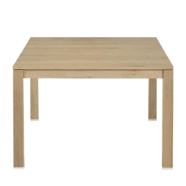 #AlineaPE2014 Table carrée en plaqué chêne Naturel - Tassia - Les tables carrées - Tables de repas - Consoles, tables et chaises - Décoration d'intérieur - Alinéa